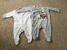 Babygrow Pair of Babygrows Newborn and Up to 1 month F&F and Next Sleep Suit