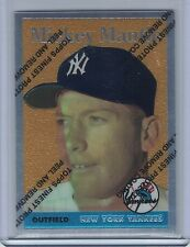 1996 Topps Mantle Finest MICKEY MANTLE #8 (1958 Topps)  (B2144)