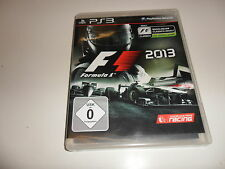 PLAYSTATION 3 f1 2013