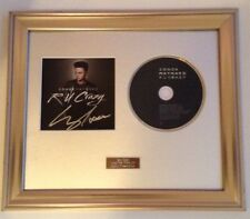 CONOR MAYNARD - R U CRAZY- PERSONALLY SIGNED/AUTOGRAPHED FRAMED PRESENTATION