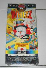 Gioco Pc Cd WHIZZ – NUOVO 1995 Box Jackson Libri Big Games Piattaforme