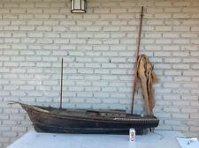 "EARLY 70"" LONG POND BOAT NAMED ME TWO, OLD PAINT FINISH, FROM OLD BR... Lot 3644"