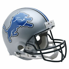 DETROIT LIONS RIDDELL NFL FULL SIZE AUTHENTIC PROLINE FOOTBALL HELMET