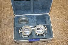 alte Carl Zeiss Lupenbrille Fernrohrbrille  wohl aus DDR Zeiten
