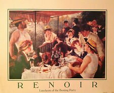 Luncheon of the Boating Party Print. Renoir. Open Edition