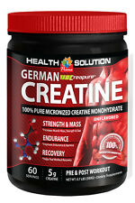 German Creatine Creapure Monohydrate Powder Fat Burner 300g 1 Can