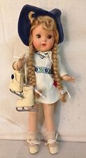 "VINTAGE 1942 HORSMAN BRIGHT STAR, SPIEGEL ""LITTLE QUEEN OF THE SKATERS DOLL"""