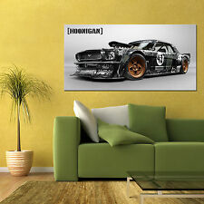 KEN BLOCK GYMKHANA FORD MUSTANG RALLY CAR LARGE AUTOMOTIVE HD POSTER 24x48 in