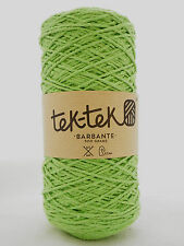Crafting Cotton 6ply APPLE GREEN New Cotton Knitting Crochet Weaving 220m wash