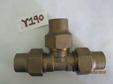 """Legend 1"""" NPT Male Thread T Shaped 3 Way Tee Coupling Pipe Fitting"""