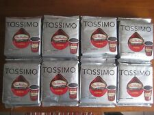 Lot of 8 - Tassimo Tim Hortons Coffee T Discs, 14 single cup,4.33 Ounce each