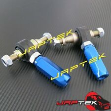 NEW HD Adjustable Tie Rod Rack Ends for Nissan S14 200sx 14mm Pillow Ball SR20