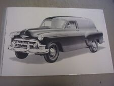 1953 CHEVROLET SEDAN DELIVERY 12 X 18 LARGE PICTURE    PHOTO