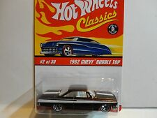 Hot Wheels Classic Series 2  #2 Dark Gold 1962 Chevy Bubble Top