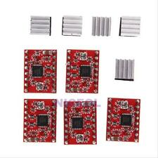 5pcs A4988 StepStick Pololu Stepper Driver Module + Heatsink for RepRap 3D Ramps