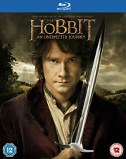 THE HOBBIT: AN UNEXPECTED JOURNEY****BLU-RAY****REGION B****NEW & SEALED