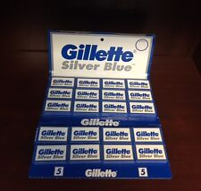 Gillette Silver Blue Razor Blades - Dbl Edge - 100 pieces