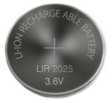 1 Pile Bouton CR2025 Li-ion Rechargeable 3.6V Lir2025 Batterie Battery Accu Cell