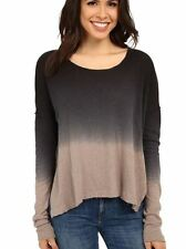 NEW FREE PEOPLE Ombre Linen-Cotton Women's Pullover  XS NWT