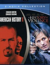 American History X/A History of Violence (2011, REGION A Blu-ray New) BLU-RAY/WS