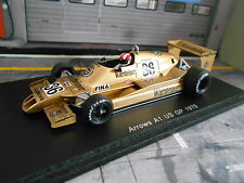 F1 ARROWS A1 Ford Cosworth #36 Stommelen US GP 1978 Warsteiner Spark 1.43