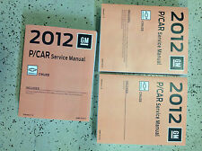 2012 Chevrolet Chevy CRUZE Service Shop Repair Manual Set FACTORY NEW 2012