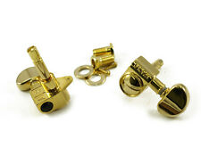 NEW Grover Rotomatic GOLD 3x3 LOCKING TUNERS 18:1 Gear Ratio Top Locking 106G