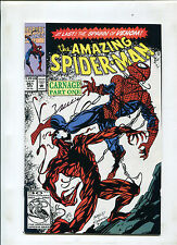 THE AMAZING SPIDER-MAN #361 (9.0) 1ST APPEARANCE OF CARNAGE. SIGNED MARK BAGLEY