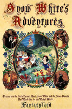 Vintage Disney ( Snow White Adventures ) Collector's Poster Print - B2G1F