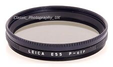 Leitz E55 P-Filtro Polarizador Cir 13335 55mm para Summicron-R 90mm Elmarit-r 35mm
