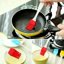 BBQ Barbecue Silicone Baking Bakeware Bread Cook Pastry Oils Cream Basting Brush