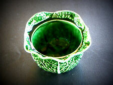 SECLA  MAJOLICA CABBAGE LEAF  SOUP BOWL (NO LID)  MADE IN PORTUGAL