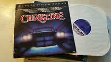 JOHN CARPENTER CHRISTINE OST soundtrack LP '83 viscounts little richard horror !