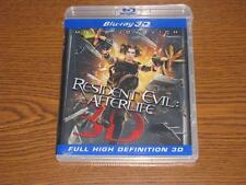 Resident Evil: Afterlife (Blu-ray Disc, 2010, 3D)