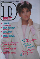 DOLLY 322 1984 Iron Maiden Limahl Bowie Jennifer Connelly Celentano Maria Vidal