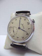 Early Soviet 2CHZ MOLNIJA 3601 Slim Gents Oversized wristwatch 15 Jew *SERVICED*