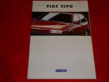 FIAT Tipo S SX SLX GT Sport Prospekt von 1993