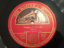 "ENRICO CARUSO ""Love Me Or Not""/""Dreams Of Long Ago"" 78rpm 12"" 1925 DB125 VG+"
