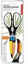 Kikkerland Toucan Kitchen Shears Scissors NEW