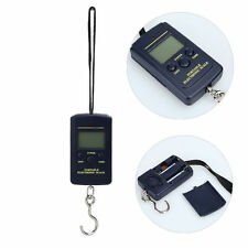 10g 40Kg Pocket Digital Scale Electronic Hanging Luggage Balance Weight Black