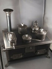 Antique  tin toy cooker/stove 1910 / Germany