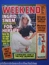 Weekend Magazine - Ingrid Pitt, R101 Airship, Jackie Pallo    15th Feb 1978