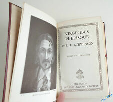 R.L. STEVENSON Virginibus Puerisque and later essays Illustré Frontispice
