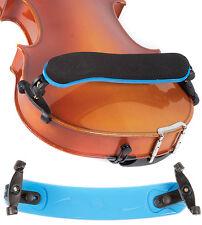 Viva La Musica Blue 3/4-4/4 Violin Shoulder Rest - NEW!