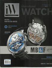 iW  INTERNATIONAL WATCH,      MARCH, 2014      ( THE MATERIAL ISSUE  )