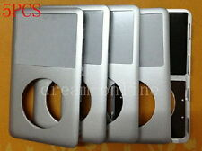 5pcs Front Faceplate Housing Cover for iPod 6th Gen Classic 80GB 160GB(Silver)