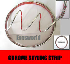 CHROME STYLING STRIP CAR VAN TRIM 3.5MM (W) x 3.65M (L)