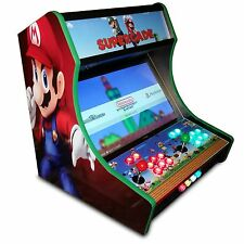 Bartop Arcade Kit Bundle, Sanwa, LED Buttons, USB Encoder - Easy Assembly -USA