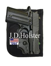 Concealed Pocket Purse Gun Holster for Women for S&W Bodyguard Pistol BLACK