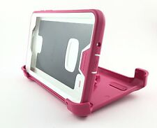 OtterBox Defender Series for Samsung Galaxy TAB 4 (7.0) - Pink-White